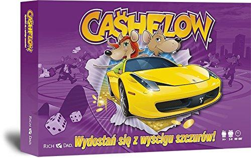 CASHFLOW Spiel in POLNISCH - Rich Dad Investitionsspiel von Robert Kiyosaki - Neueste Originalausgabe von CASHFLOW 101