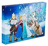 Sambro DFR15-6382 Adventskalender Disney Frozen mit Schreibwaren, kleinen Spielzeugen und Stickern