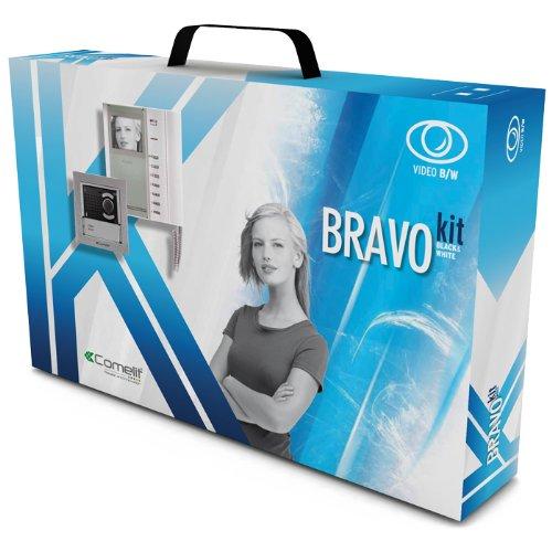 Videocitofono BRAVOKIT 8171 monofamiliare bianco e nero