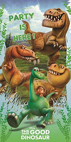 Unique Party Supplies Kunststoff The Good Dinosaurier Tür Poster, 5ft x 2.5FT