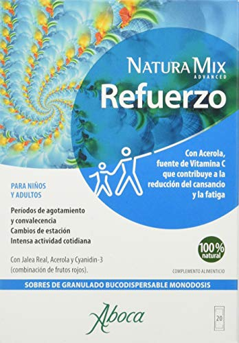 Aboca Natura Mix Advanced Refuerzo 20Sbrs. 400 g
