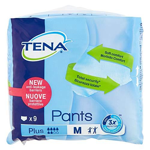 Tena Pants Plus Medium für mittlere bis starke Blasenschwäche, 9Stück