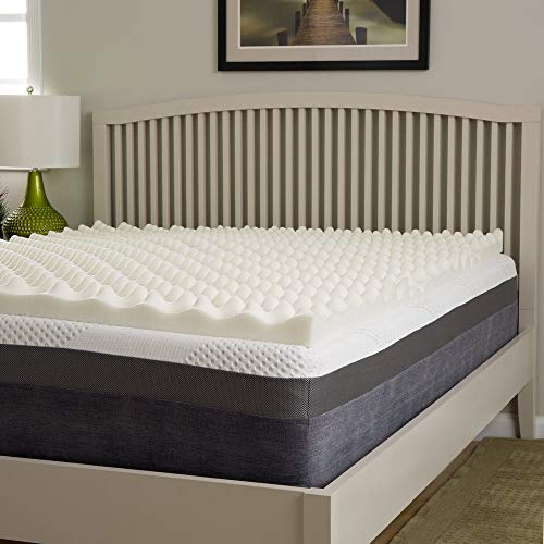 Slumber Perfect Big Bump 3-inch Convoluted Memory Foam Topper Twin