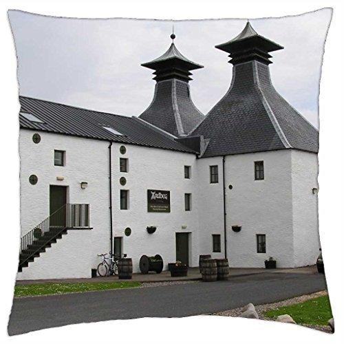 Scotland - Ardbeg Distillery - Throw Pillow Cover Case (18