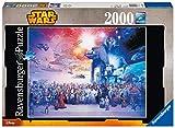 Star Wars Ravensburger Puzzle 2000 Piezas Jigsaw Puzzle, Premium Puzzle con tecnología Softclick, Puzzle para Adultos