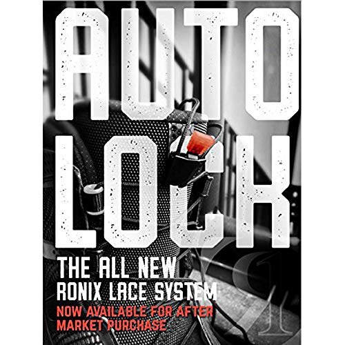 RONIX AUTOLOCK Lace Lock Kit Black