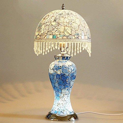 DSJ tafellamp bedlampje mozaïek glad schilderij creatief nachtlampje dual - decoratieve lampen gebruiken