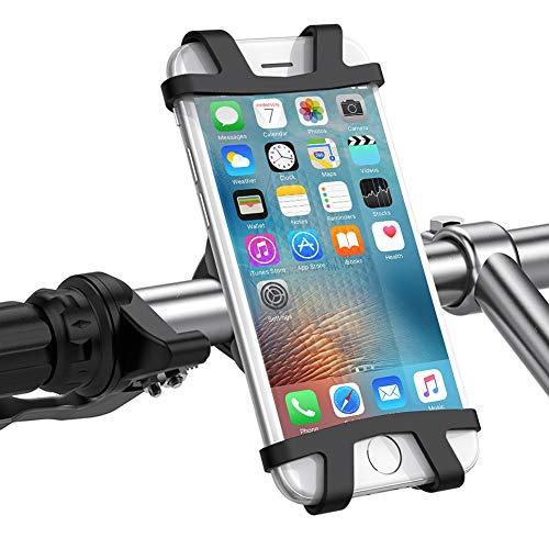 "UGREEN Soporte Movil Bici Manillar, Soporte Moto Bicicleta Universal Montaña Deportiva para iPhone X 8 8P 7 7P Huawei P20 Lite P10 P9 Samsung S9 Xiaomi Mi A1 A2 Redmi Note 5 Redmi 5 Plus (4.0""-6.2"")"