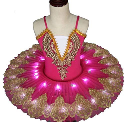 SMACO Ballet Tutu Profesional LED Lago de los cisnes Ballet Infantil de Baile Ropa Falda del tutú del Vestido de Las Mujeres de la Bailarina de la Danza del Traje del Partido