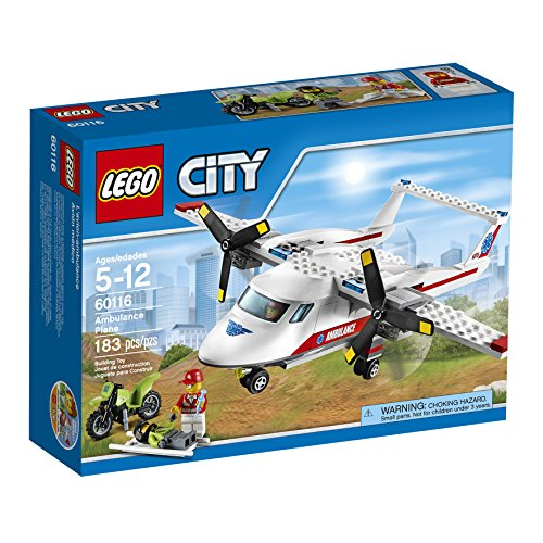 LEGO City Great Vehicles Ambulance Plane (183 Piece)