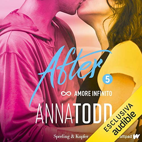 Amore infinito audiobook cover art