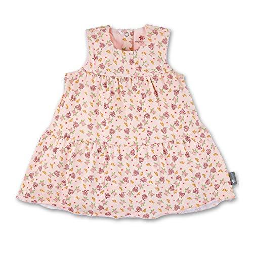 Sterntaler Mädchen Baby-Kleid mit UV-Schutz, Alter: 3-4 Monate, Größe: 56, Rosa
