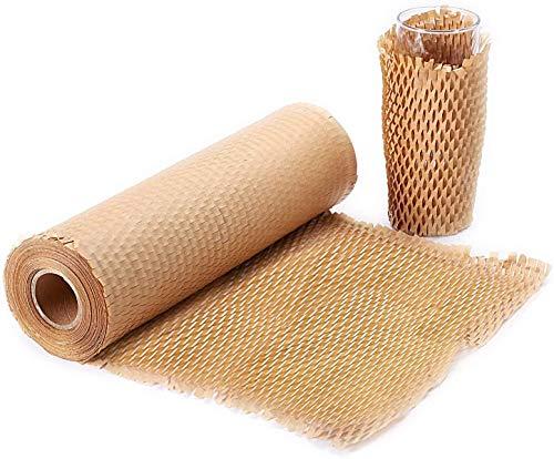 Carta a nido d'ape, carta da imballaggio - Materiali di imballaggio per articoli sensibili Materiale di imbottitura per il trasporto -imballaggio di articoli e pacchi, trasporto 30cm/40M 80g