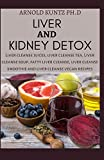 LIVER AND KIDNEY DETOX: LIVER CLEANSE JUICES, LIVER CLEANSE TEA, LIVER CLEANSE SOUP, FATTY LIVER...