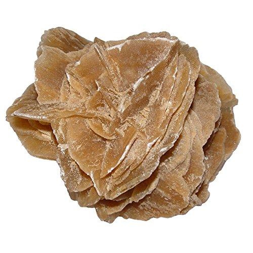 Sandrose Wüstenrose aus Tunesien Größe XL: ca.100 - 120 mm als Deko - oder als Duftöl Speicher (4865)