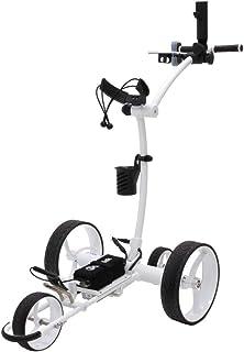 Cart-Tek Electric Golf Push cart with Remote Control - GRi-1500Li V2 Lithium Battery Electric Golf Caddy w/Free Accessory ...