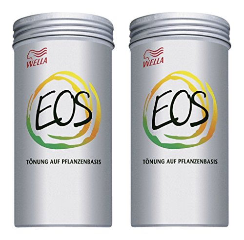 Wella Eos VIII - Tinte para plantas (2 unidades, canela, 120 g)