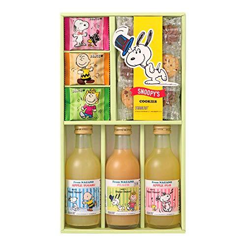 ジョイフルスヌーピー ジュース&クッキーセット SJS-B ジュース&クッキー詰合せ