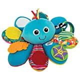 LAMAZE Octivity Time Baby Sensory Toy, Soft Baby Toy for Sensory Play and Discovery, Octopus Toddler Toy Suitable from 6 Months, 1+ Year Old Boys and Girls