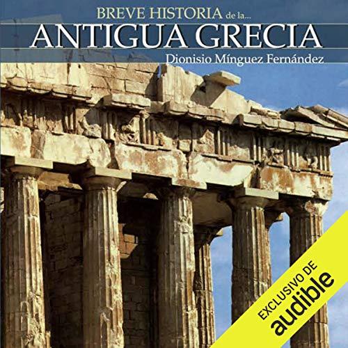 Diseño de la portada del título Breve historia de la Antigua Grecia