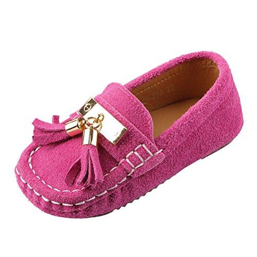 Chic-Chic Chaussure Bateau Mocassin Enfant B/éb/é Loisirs Confort Chaussures Fille Gar/çon Cuir Su/éd/é Plates Oxford Mode Princesse