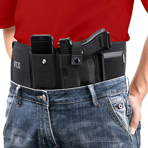 Belly Band Holster for Men and Women- Glock 19 Holster for Concealed Carry(Left-44'')