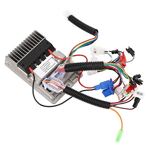 Controlador universal para bicicleta eléctrica, 36 V-48 V, de aluminio fundido, con alarma, sin escobillas, resistente al agua, para bicicleta eléctrica, triciclos, vehículos eléctricos