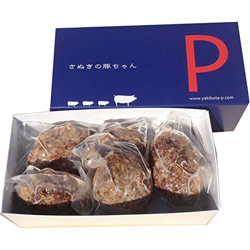 オリーブ豚ハンバーグ5個入り 〔110g×5〕 香川県 化学調味料不使用 肉惣菜 焼き豚P