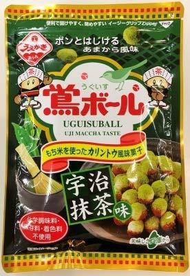 植垣米菓 71g鴬ボール宇治抹茶味(12袋セット)