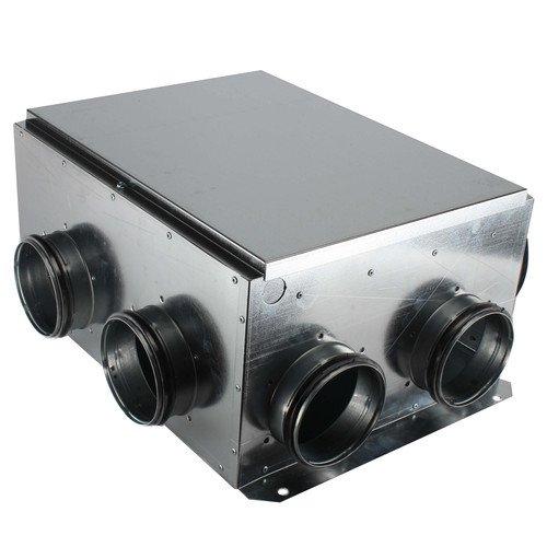 CVS Series Central Ventilation Centrifugal Multi-Port Exhaust Fan, 4 Point (404 CFM)