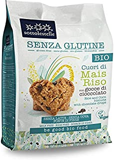 Sottolestelle Corn And Rice Biscuits With Choco Drops, 250 g