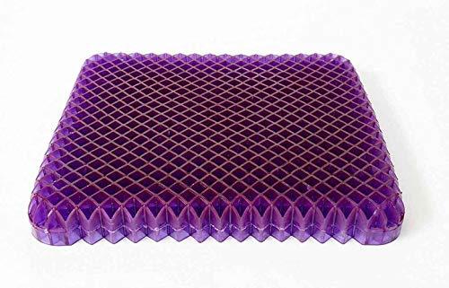 Purple Royal Seat Cushion - Seat Cushion for The Car Or Office Chair - Temperature Neutral Grid
