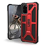 URBAN ARMOR GEAR UAG Samsung Galaxy S20 Plus Case [6.7-inch Screen] Monarch [Crimson] Rugged Shockproof Military Drop Tested Protective Cover