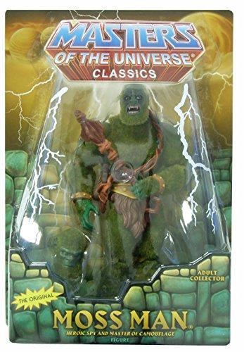 Masters of the Universe MotU Classics Figur: Moss Man (Unflocked)