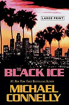 Paperback The Black Ice [Large Print] Book
