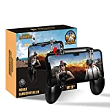 Newseego Mobile Game Controllers, iOS & Android Controller, Aim Trigger Fire Buttons L1R1 Shooter Sensitive Joystick, Portable Controller Gamepad with Triggers (Latest Upgraded Version)