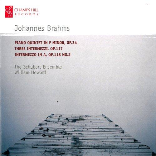 Brahms: Klavierquintett op.34 / Intermezzi op.117 & op. 118 Nr. 2