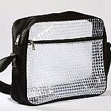 エンジニアバッグ クリア PVC ショルダーバッグ 透明 クリーンルーム 帯電防止 静電気防止 手袋オマケつき