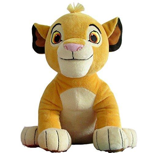HTPNG Löwen-Plüsch-Spielzeug, sitzender Löwe, weich gefüllte Tiere, für Kinder, Geschenke, Höhe 26 cm