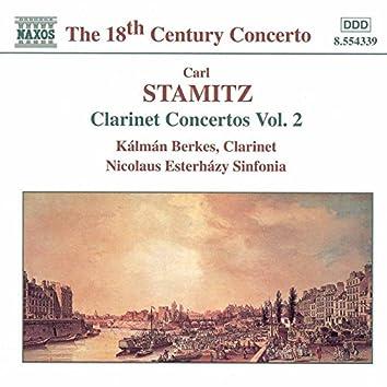 Stamitz, C.: Clarinet Concertos, Vol.  2