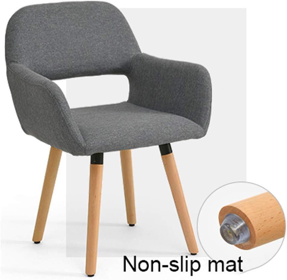 LF Chaise de Salle, Chaise de Bureau Simple, créative Dossier, Chaise Loisirs, Maison Adulte Chaise de Salle Simple (Color : Mottled-C) Khaki