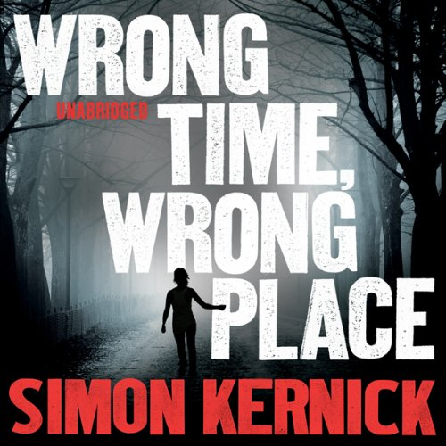 Wrong Time, Wrong Place audiobook cover art
