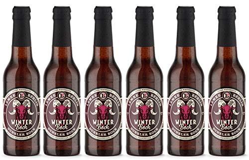 LEMKE Berlin Winterbock | Bockbier, dunkler Bock, Craft Beer (6 x 0,33 l)