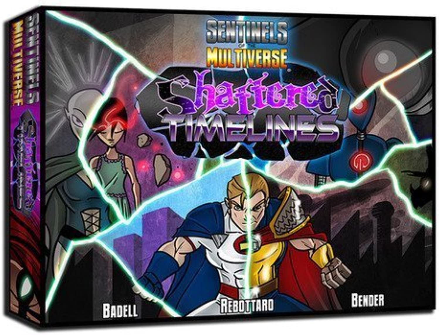 Sentinels of The Multiverse  Shattered Timelines by Greater Than Games [Toy]
