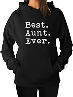 TeeStars - Best Aunt Ever - Gift for Auntie from Nephew or Niece Women Hoodie