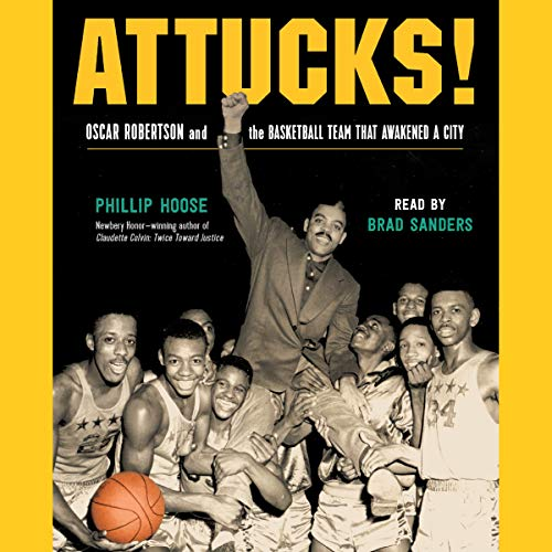 Attucks! audiobook cover art