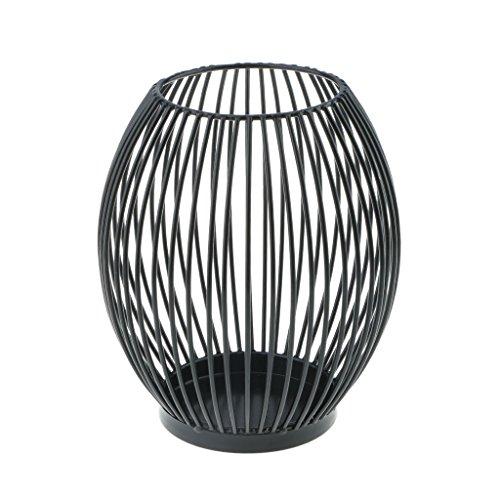MagiDeal Kerzenhalter Kerze Kerzenständer Metall Windlicht Metallständer Deko Dekoration - L