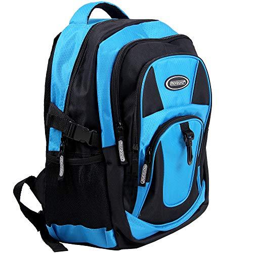 Sportrucksack Wanderrucksack | wasserabweisend | 7 Fächer | Innen- & Bodenpolster | Outdoor Wander Fitnesstasche Rucksack