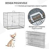 Zoom IMG-2 pawhut kennel gabbia per cani