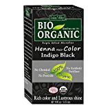 Indus Valley 100% Chemical Free Organic Henna Hair Color For Dark Shiny Hair